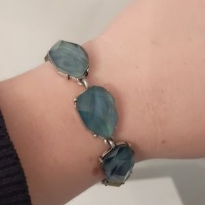 Retired Chloe and Isabel Blue Statement Bracelet